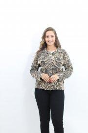 Imagem - Camisa Feminina Sarja Manga Longa