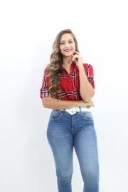 Imagem - Camisa Feminina Xadrez Manga Longa