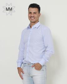 Imagem - Camisa Oracon Masculino Azul Confort