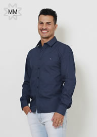 Imagem - Camisa Oracon Masculino Slim Fit