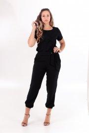 Imagem - Conjunto Feminino Crepe Calça e Blusa