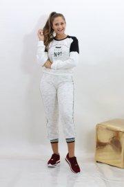 Imagem - Conjunto Moleton Feminino Com Calça Moderno