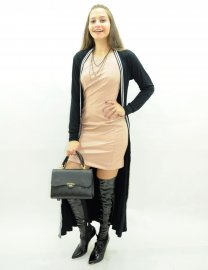 Imagem - Max Cardigan Feminino Com Fenda lateral