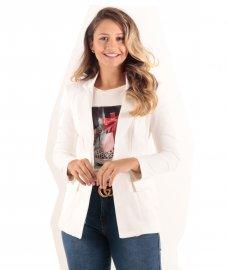 Imagem - Maxi blazer Alongado Feminino Nakepe