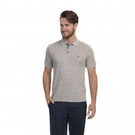 Imagem - Camiseta Polo Masculina Estampada Oracon