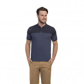 Imagem - Camiseta Polo Masculina Degradê Oracon