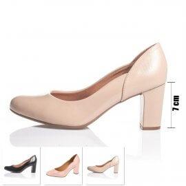 Imagem - Sapato Feminino Vizzano Salto Medio Bico Redondo