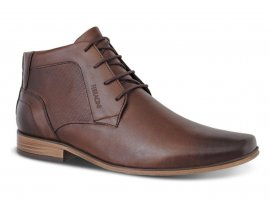 Imagem - Sapato Masculino Ferracini Derby de Couro