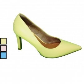 Imagem - Sapato Scarpin Usaflex de Couro Bico Fino