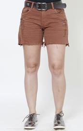 Imagem - Shorts Feminino Sarja com cinto