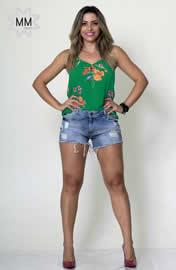Imagem - Shorts Feminino Jeans Dardak com Puidos