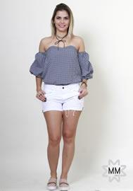 Imagem - Shorts Branco Feminino Dardak