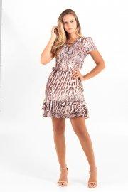 Imagem - Vestido Estampado Tata Martello Animal Print