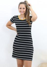 Imagem - Vestido Feminino Esportivo Listrado Anemone