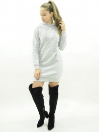 Imagem - Vestido Feminino Moletom Bordado com Perolas