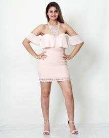Imagem - Vestido Karmani Ombro a Ombro