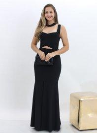 Imagem - Vestido Longo Bandagem Sereia