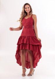Imagem - Vestido Mullet com Cinto
