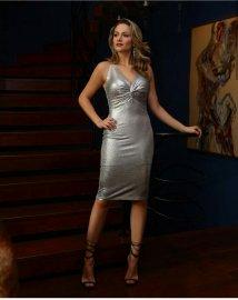 e45c8da6ad94 Imagem - Vestido Social Feminino Lurex