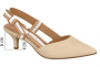 Sapato Chanel Vizzano Salto Baixo Laço Gorgurão
