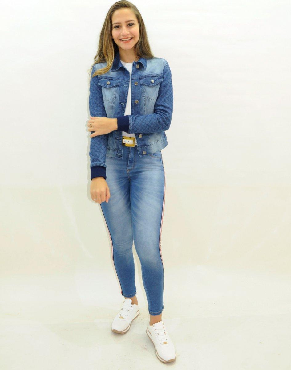 581a5107e83c Jaqueta Jeans Feminina Blogueira
