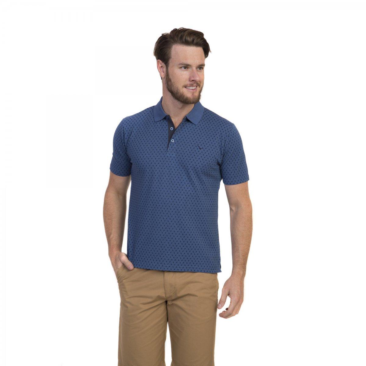 499be711e2 Camiseta Polo Masculina