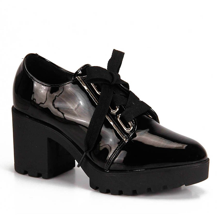 c0286d6c90 Sapato Oxford Vizzano Tratorado Verniz
