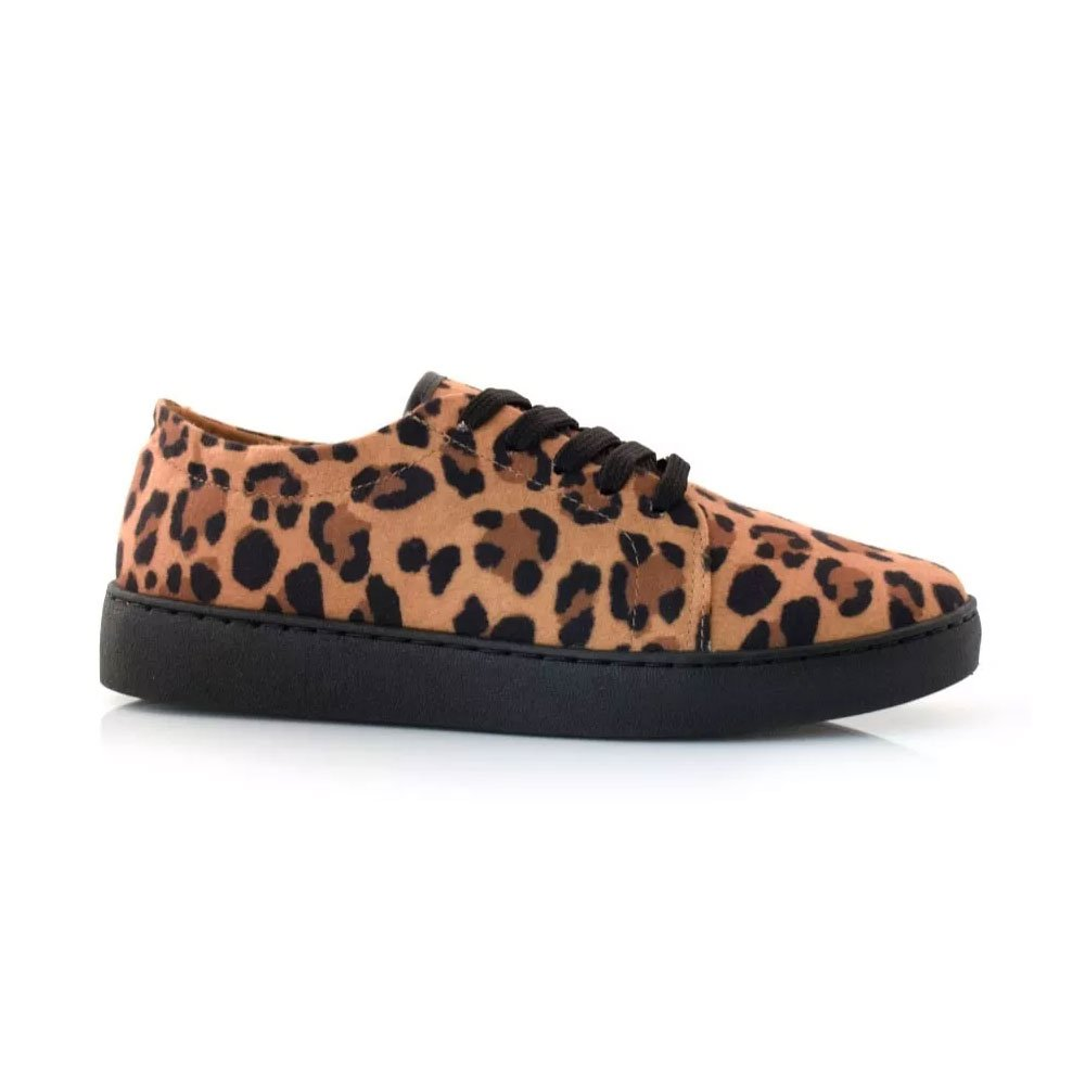 7c5ce6d962 Tênis Feminino Animal Print Vizzano Animal Print - MM Concept