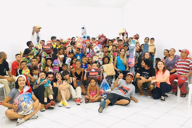 Imagem - Ong Social Skate - Natal Solidário