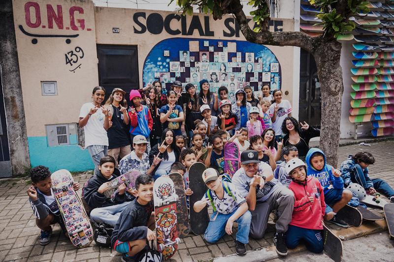 Imagem - Dia das Crianças na Ong Social Skate School