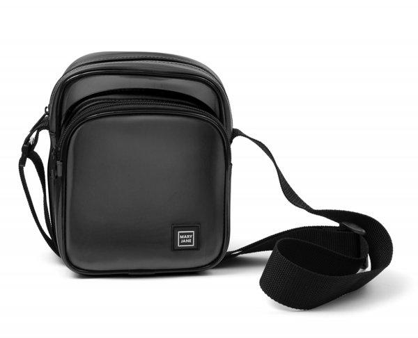 SHOULDER BAG BLACK CLEAR