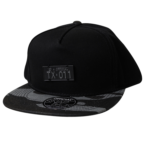 BONÉ OFFICIAL TX LICENSE PLATE SNAPBACK