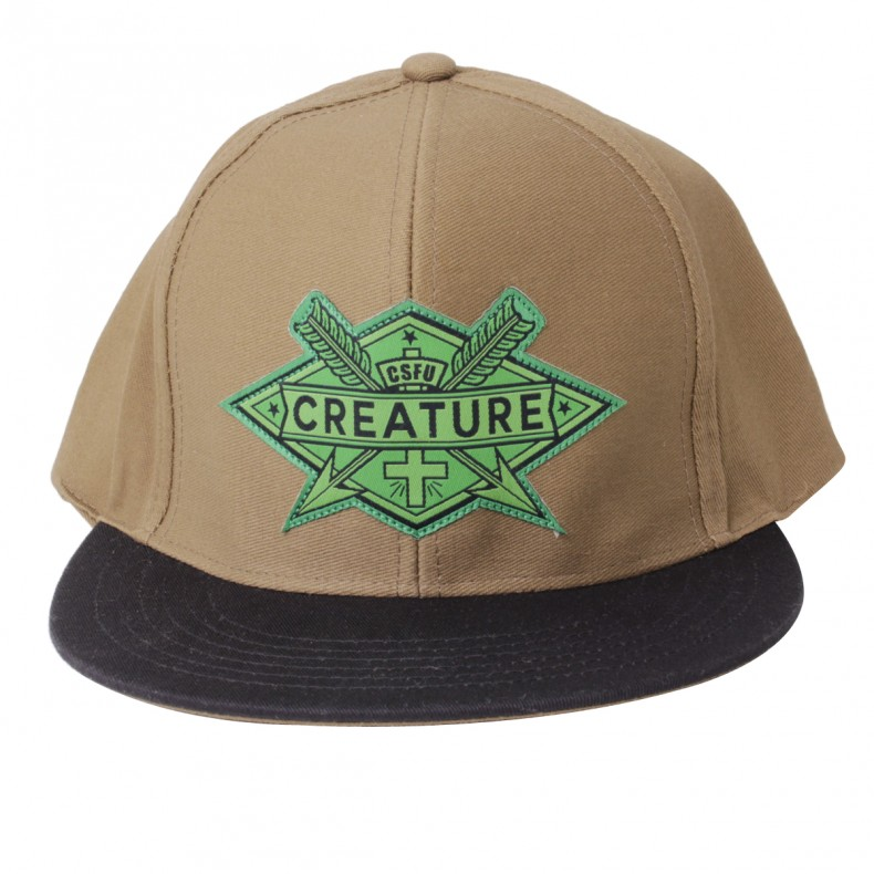 BONÉ CREATURE ARROWS SNAPBACK