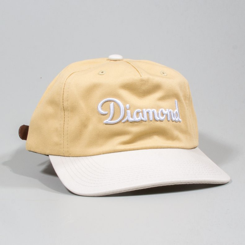BONÉ DIAMOND CHAMPAGNE STRAPBACK