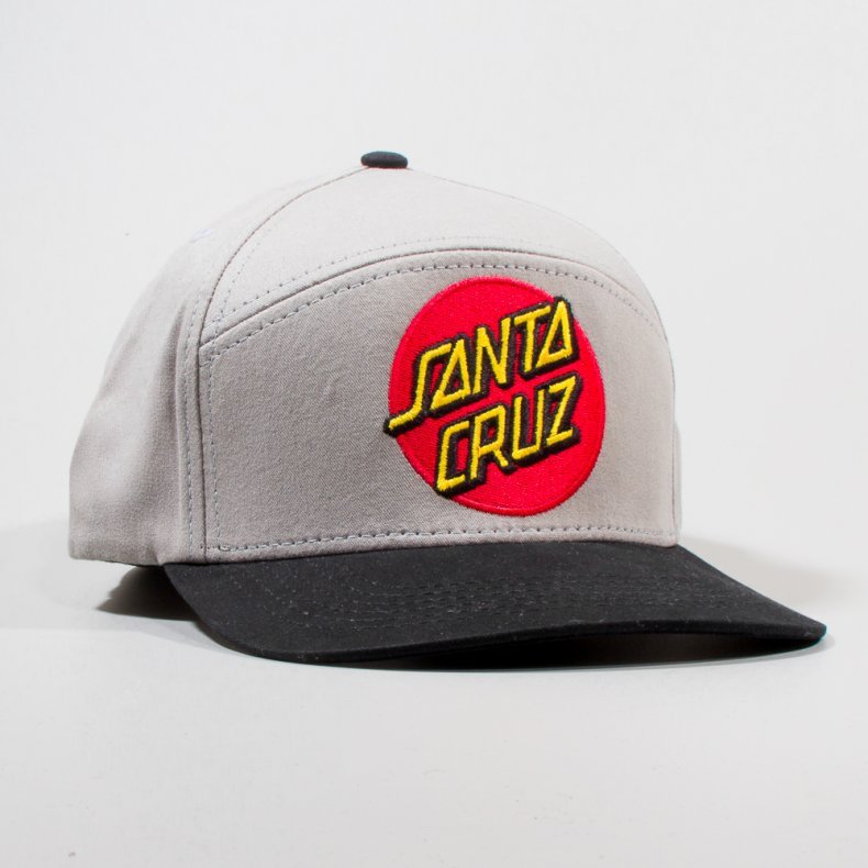 BONÉ SANTA CRUZ DOT 6PANEL SNAPBACK