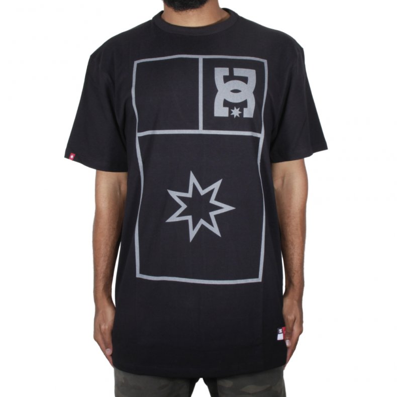 CAMISETA DC SHOES STRETCH FLAG TALL FIT