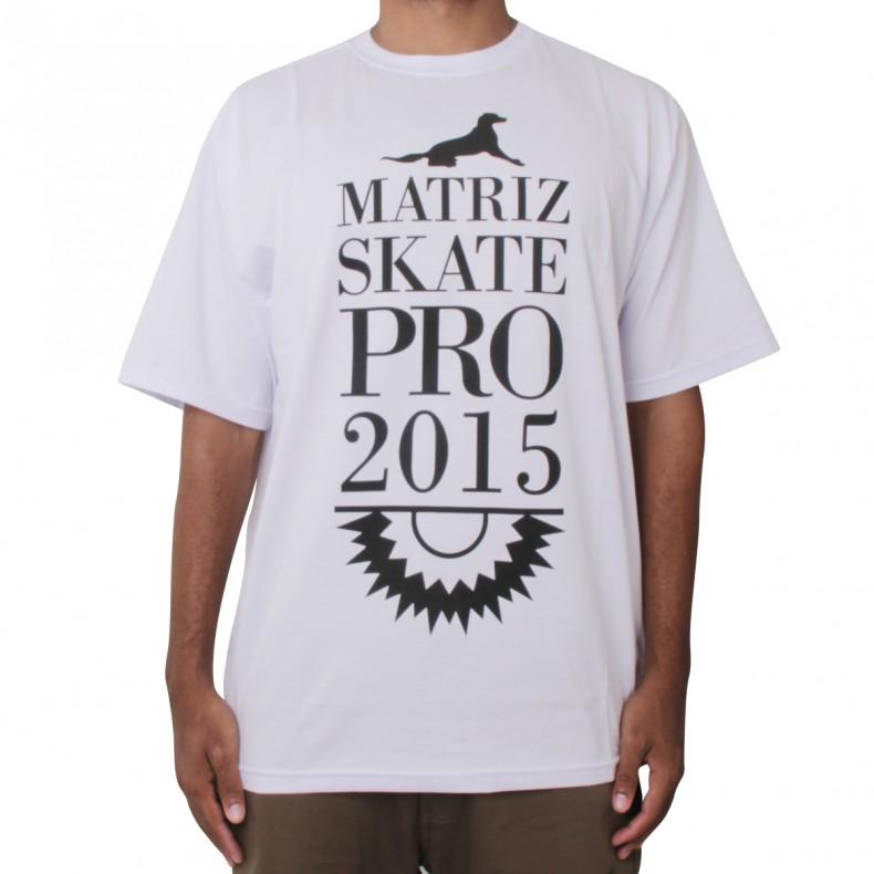 CAMISETA MATRIZ SKATE PRO 2015