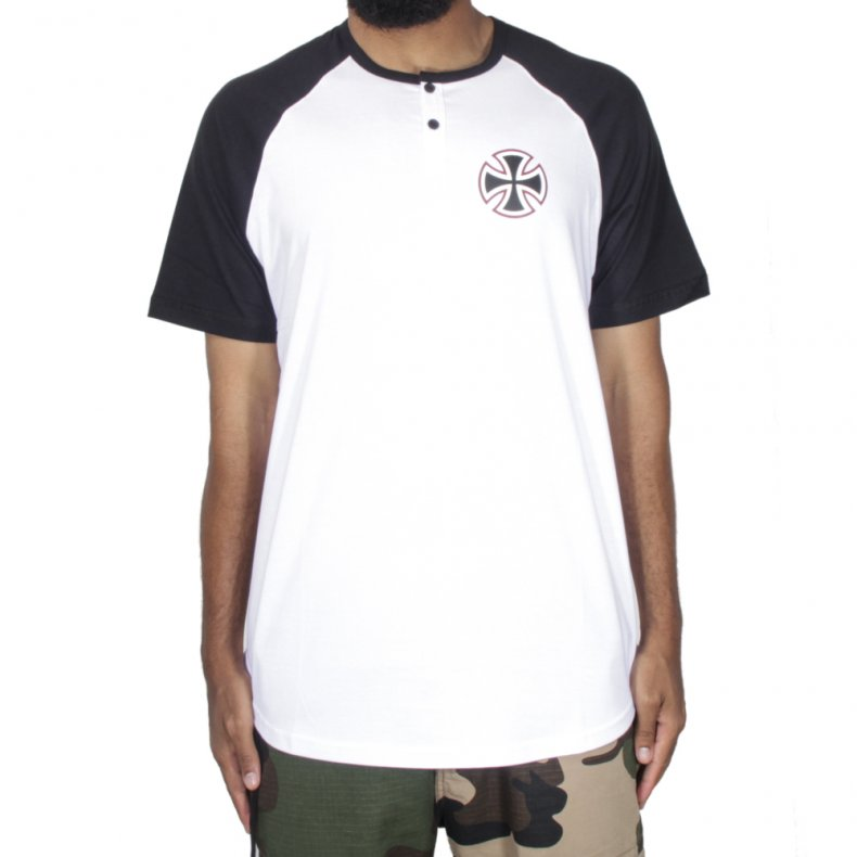 CAMISETA RAGLAN INDEPENDENT TIER CROSS