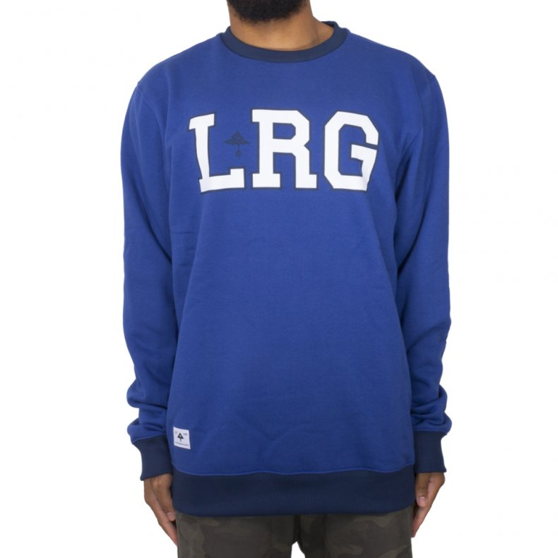 MOLETOM LRG FRANCHISE CREW NECK
