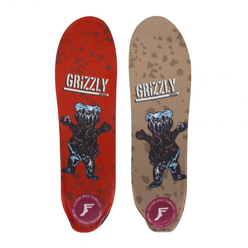 PALMILHA FOOTPRINT GRIZZLY ELITE