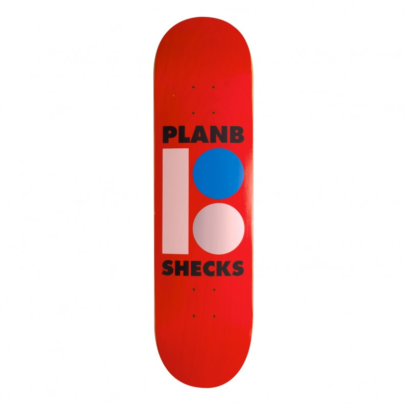 PLAN B SHECKLER TRANSPARENT FACTORY 8.25
