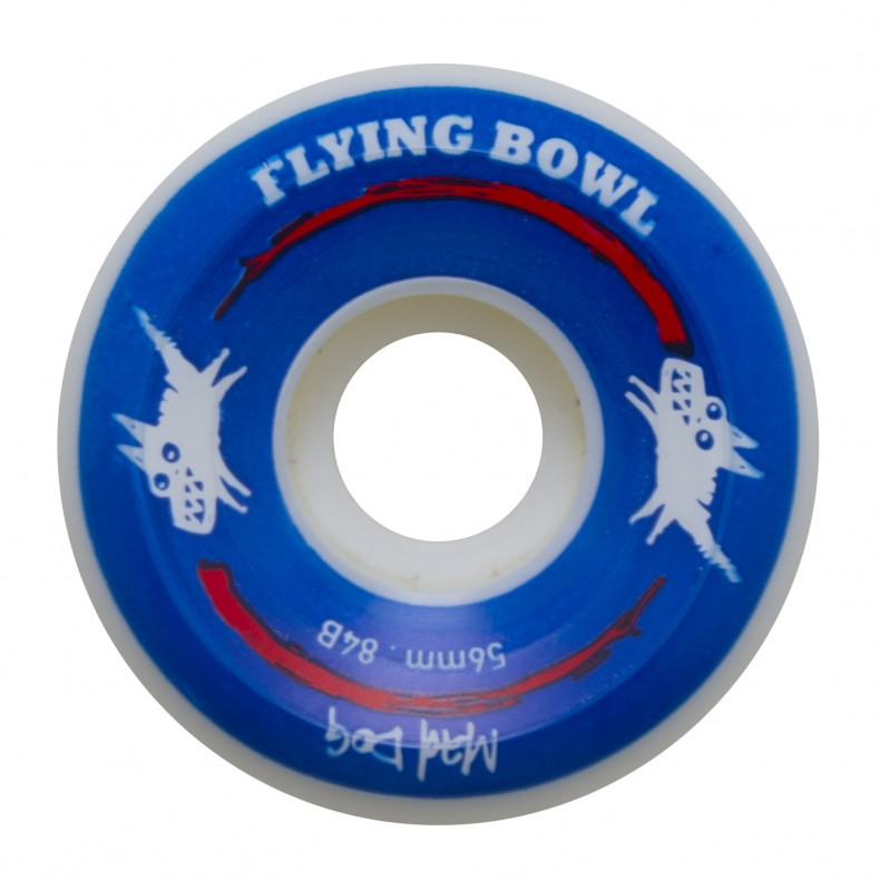 RODA FLYING MAD DOG BLUE 56MM