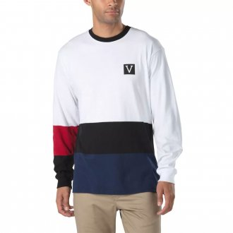 Imagem - CAMISETA VANS ML CHIMA COLORBLOCK - 15162604