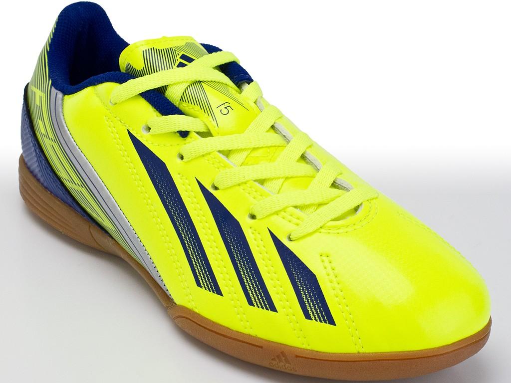 75b12bf0d6 Chuteira Adidas Futsal F5 IN Jr ...