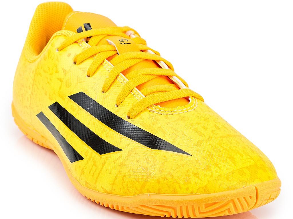 975df9c528430 Chuteira Adidas Futsal F5 IN Messi Jr