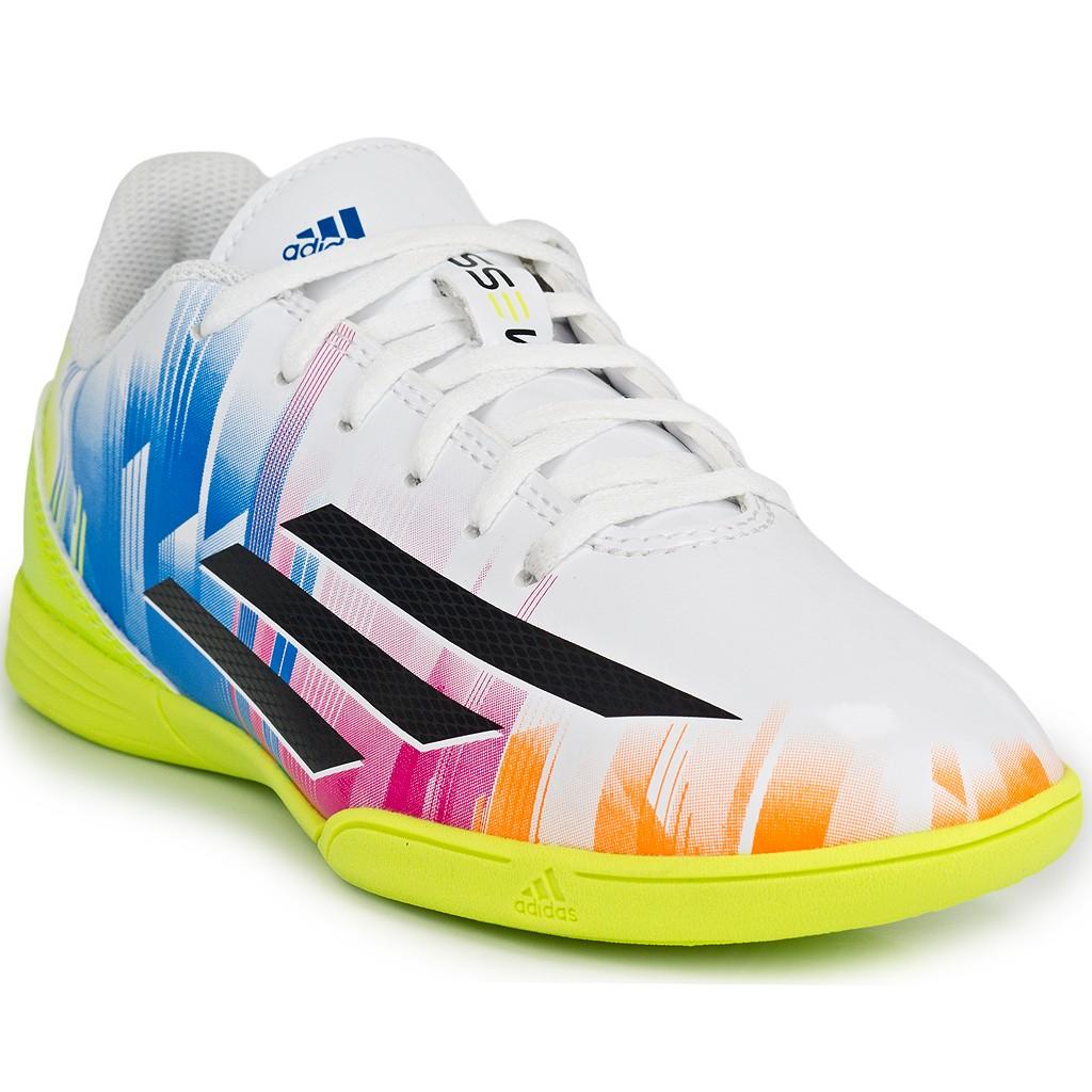 7475121365 Chuteira Adidas Futsal F5 IN Messi Jr