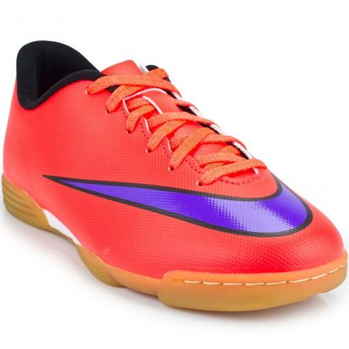 Chuteira Nike Mercurial Vortex II IC Jr 651643   Futebol Futsal   MaxTennis 2afa7889eb