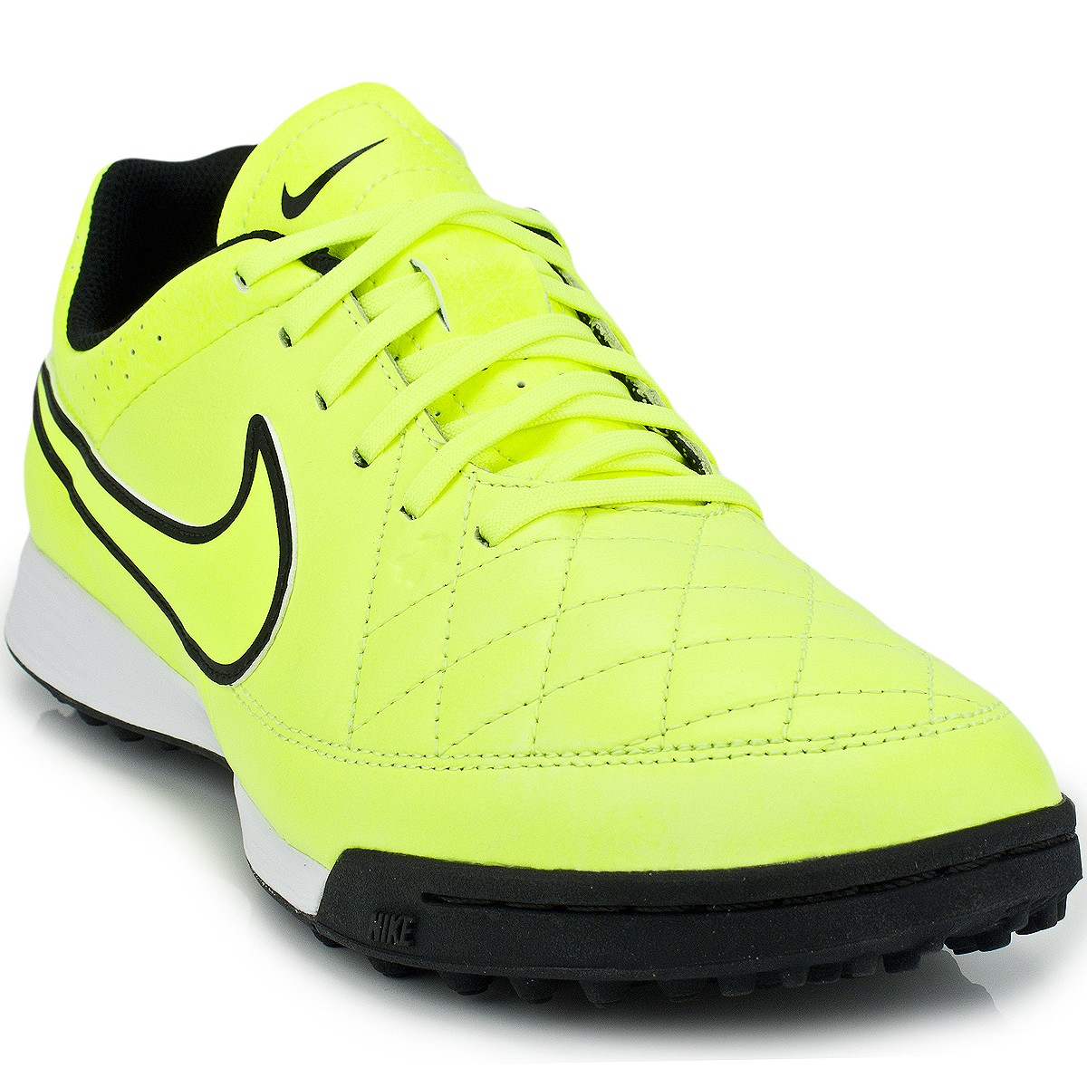 Chuteira Nike Tiempo Genio Leather TF 631284 ... 5690ee2c1be3e