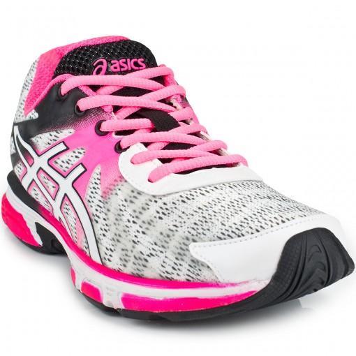 tenis asics feminino rosa e preto