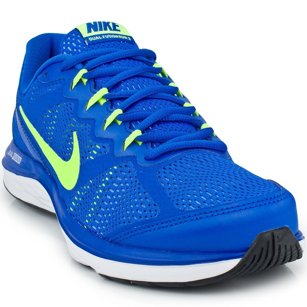 70b8f7cd88a Tênis Nike Dual Fusion Run 3 MSL 653619